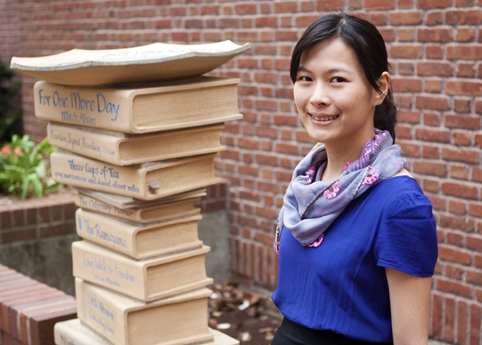 Doreen Chung, assistant professor of apparel, events, and hospitality management, is studying how museums can use social media to draw patrons. Photo by Kara Cipolloni.