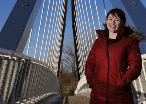 Iowa State\'s Katy Swalwell spent a semester observing students at an affluent, private school to understand how they learn about social justice problems. Photo by Christopher Gannon.