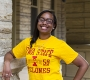Jehan Bostick is a family and consumer sciences education and studies major from Panama.